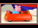 Toy Car Clown Videos - Peppa Pig Family - NEW CAR - Toys Collection
