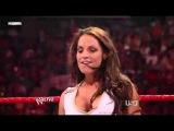 Trish Stratus  MVP & Mark Henry vs  Beth  Y2J   & Big Show