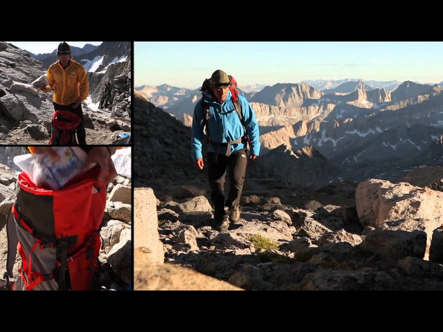 The North Face Jimmy Chin How to Pack a Backpack