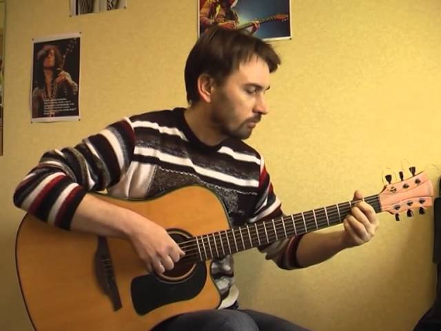 Freelove - Depeche Mode (guitar cover) Валерий Трощинков