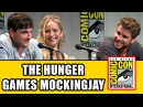 The Hunger Games Mockingjay Part 2 Comic Con Panel Jennifer Lawrence Josh Hutcherson Cast