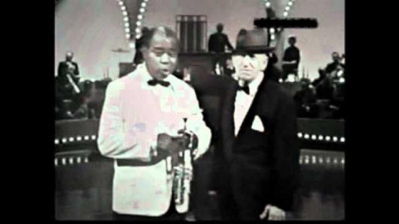 Louis Armstrong Jimmy Durante sing Old Man Time