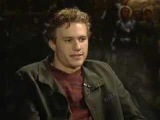 Heath Ledger interview after