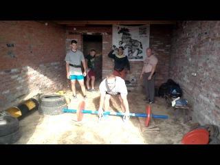 Феллер А Тренировка Русская Ось 100 кг на 15 повторений 26 июля 2015