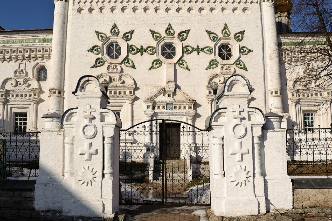 Декор Троицкого собора