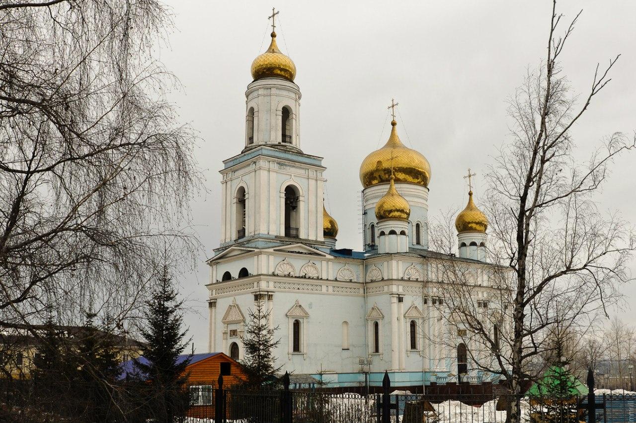 Краснотурьинск. Храм преподобного Максима Исповедника, построен в 1844 г.