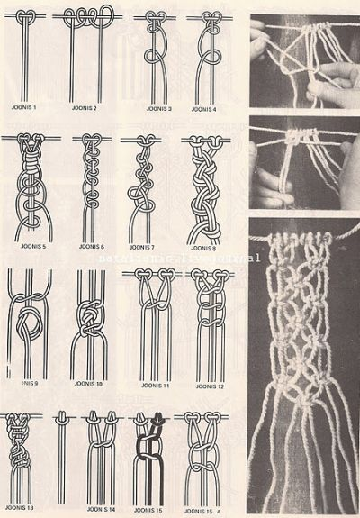 Макраме плетение из веревки