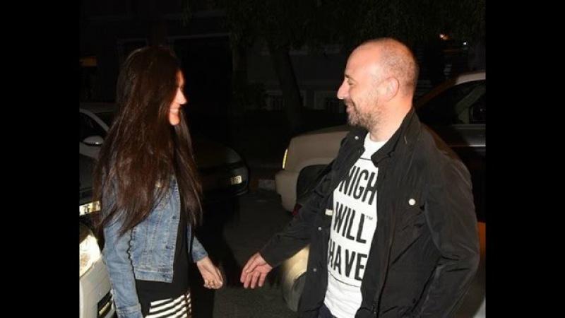 Halit Ergenc Beguzar at Eylem's birthday party - Kisses and Hugs - Starlife 31-5-2015