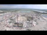 Строительство стадиона в Ростове-на-Дону (13.07.2015)