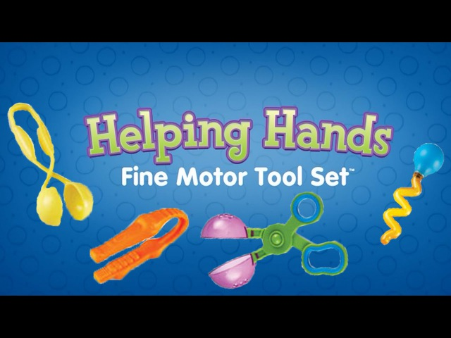 Helping Hands Fine Motor Skills Tool Set™ by Learning Resources UK