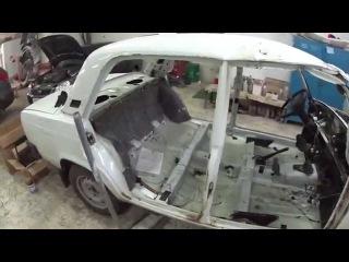 ремонт после ДТП с грузовиком- Авангард Авто