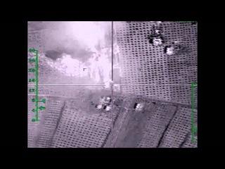 Уничтожение цеха в провинции Алеппо, в котором автомобили оснащались взрывными устройствами