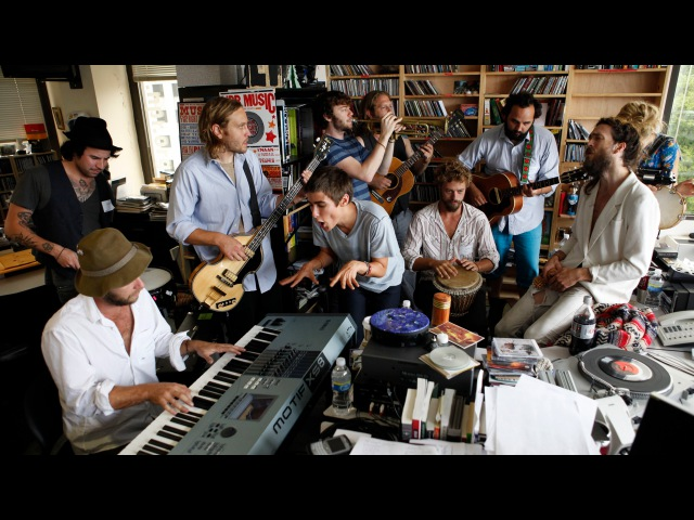 Edward Sharpe And The Magnetic Zeroes NPR Music Tiny Desk Concert