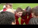 We don't let this slip we go again Steven Gerrard leads Liverpool's Post Match Huddle