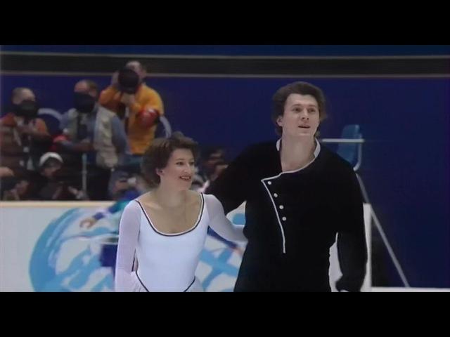 [HD] Kazakova Dmitriev - 1998 Nagano Olympics - SP