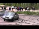 Mercedes W124 Diesel Turbo Burnout Hedemora Sweden