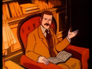 ENGLISH Sherlock Holmes and the Hound of the Baskervilles 1983 cartoon full movie baskerville curse