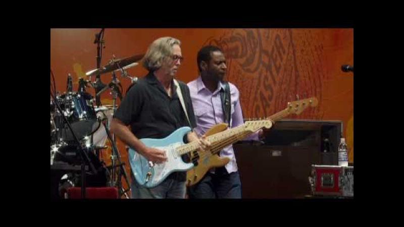 Eric Clapton performs