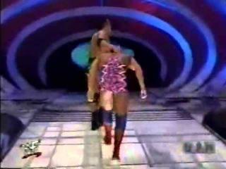 The Rock and Lita vs Kurt Angel and Stephanie Mcmahon