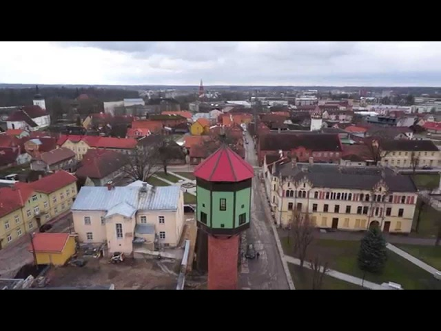 Hansalinn Viljandi (aerovideo)