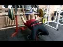 Епихин А жим бэ 185 кг на 2 повторения 03-08-15