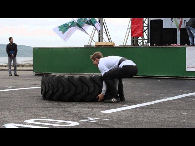 Богатыри Томской Губернии - 2012 кантовка 150 кг Вензель Е -Панов Е_ 16-09-12