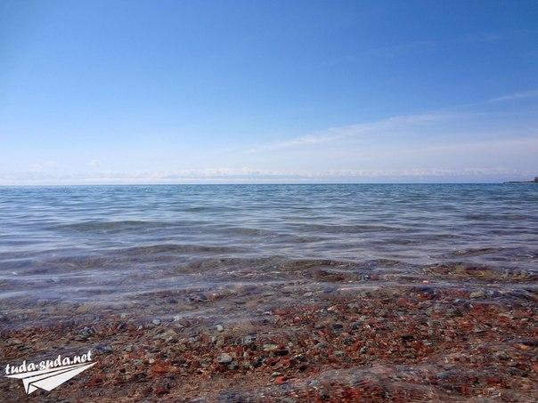 Берег Иссык-Куля Чолпон-Ата