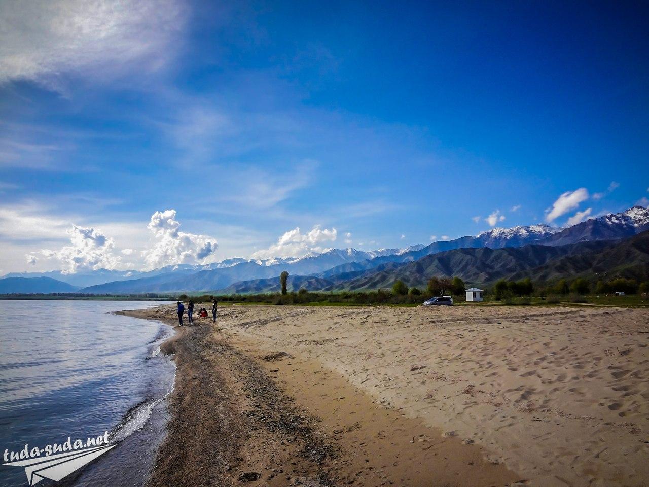 Северное побережье Иссык-Куль