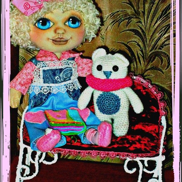 Новая куколка Алиса — очень любопытная, хоть и ростик маленький… (3 фото) - картинка