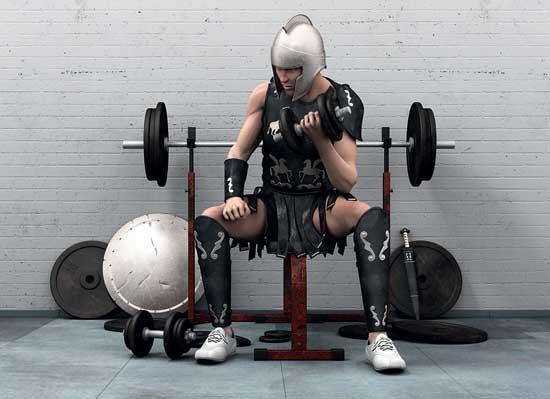 как тренировались гладиаторы, тренировка гладиаторов