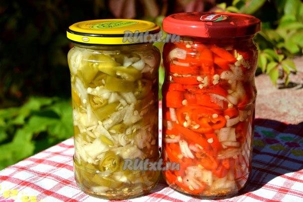 заготовка перцев на зиму рецепты с фото