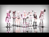 [MMD Five Nights At Freddys 2]TOO MANY MANGLE MODELS