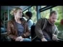 Девушка пристает к парню в автобусе