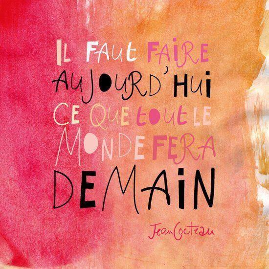 Цитаты о бизнесе и мотивации на французском с переводом