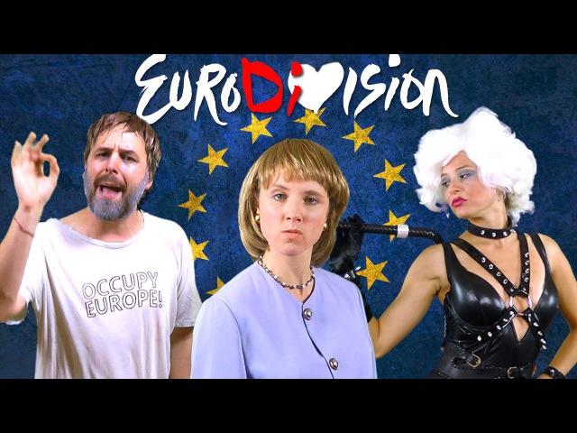 EuroDiVision - feat. Angela Merkel, Slavoj Žižek IMF [RAP NEWS 31]