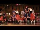 Tańce Sądeckie w wykonaniu ZTL Krakowiak - AWF Kraków