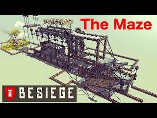 Besiege: The Maze!