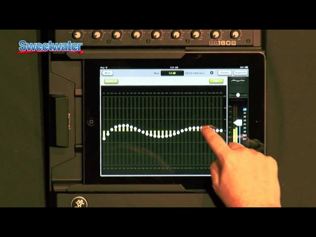 Mackie DL1608 iPad Mixer Overview - Sweetwater Sound