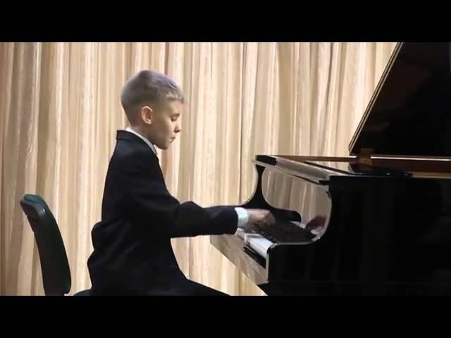 J. Haydn: Sonata D major №7 / Й. Гайдн. Соната № 7 Ре мажор, часть 1