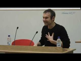 Lecture by leader of Okean Elzy Svyatoslav Vakarchuk ат LSE SU Ukrainian Society 17-11-2014.
