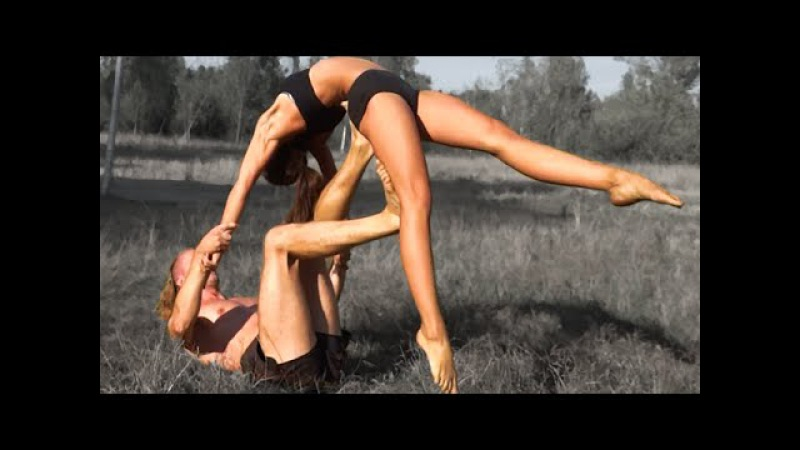 Fantastic AcroYoga Dance - Cute couple / Yoga motivation