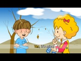 How's the weather rainy. sunny. windy. (weather) - English song for Kids - Sing a song loudly