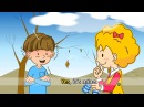 How's the weather rainy sunny windy weather English song for Kids Sing a song loudly