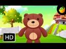 Teddy Bear Turn Around - English Nursery Rhymes - Cartoon/Animated Rhymes For Kids