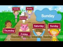 What day is it today It's Monday Tuesday Wednesday Day of the week English song for Kids