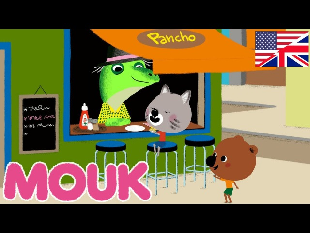 Kids' English | Mouk - Viva La Pinata ! S01E19 HD | Cartoon for kids