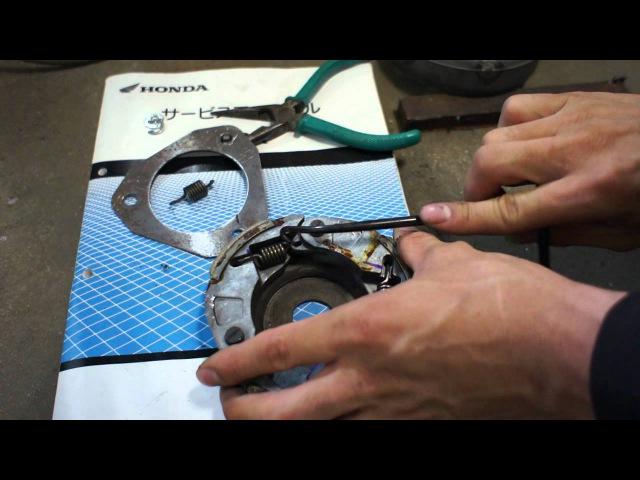 PCX задний вариатор как снять Смотрим
