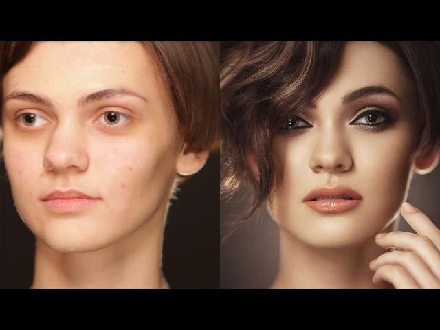 Сексуальный вечерний макияж. Smoky eyes / Смоки айс. (Урок №24) HD