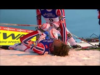 Petter Northug sprint GULL - VM Falun 2015