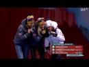 Тереза Йохауг, Астрид Якобсен, Харлотт Калла - медальная церемония женского скиатлона - Фалун 2015